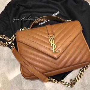IN SEARCH OF!!! YSL COLLEGE Medium TOP HANDLE